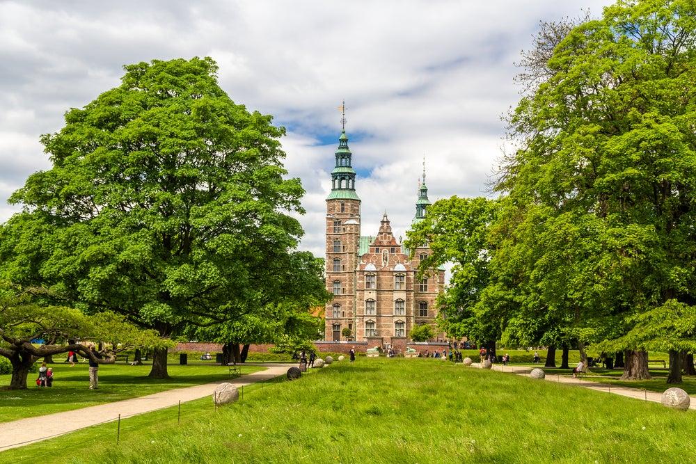 JArdines del castillo de Rosenborg