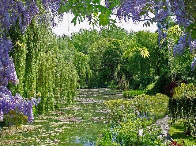 Jardín de Monet en Giverny