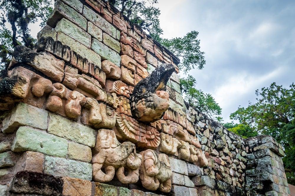 Juego de Pelota en Copán en Honduras