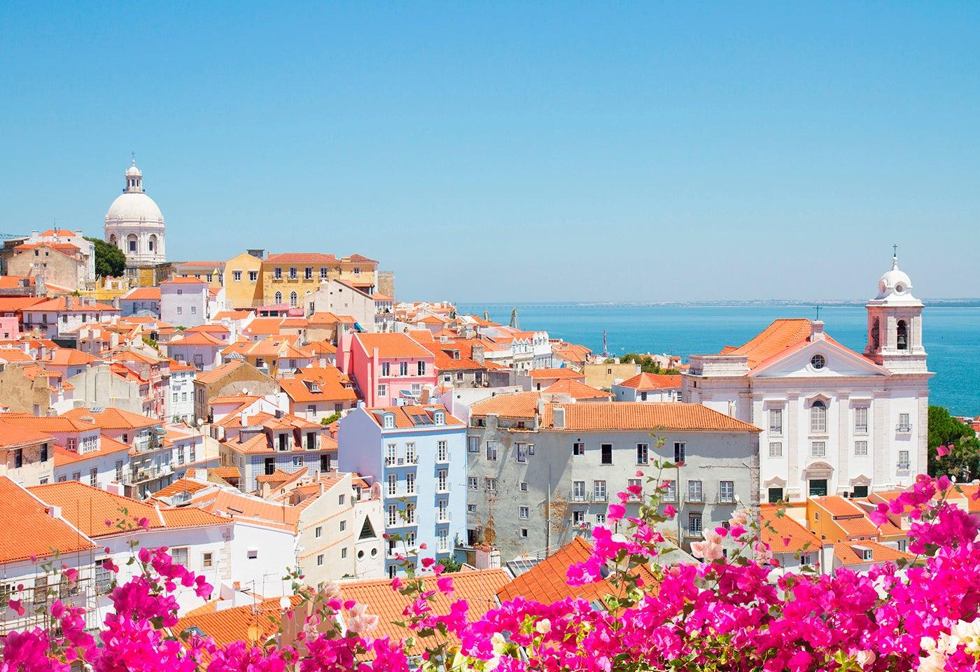 Lisboa en una ruta en caravana por Portugal