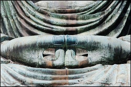 Manos del Gran Buda de Kamakura