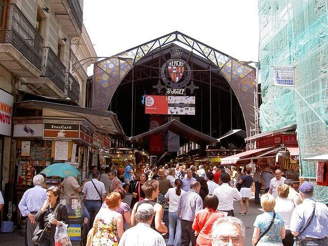 Comprar en Barcelona, Mercado de la Boquería