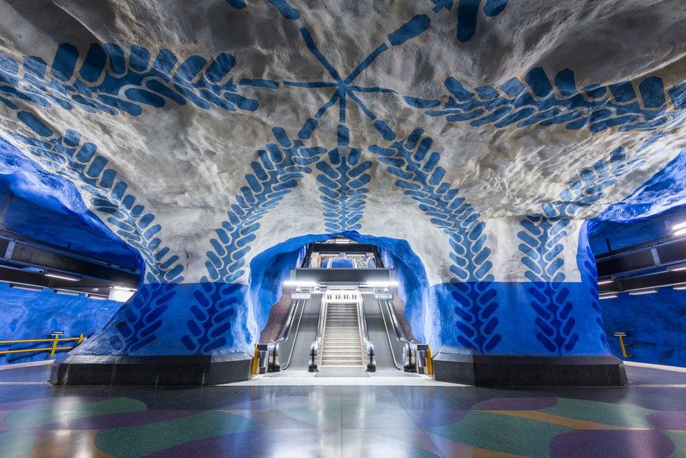 Estación T-Centralen Estocolmo