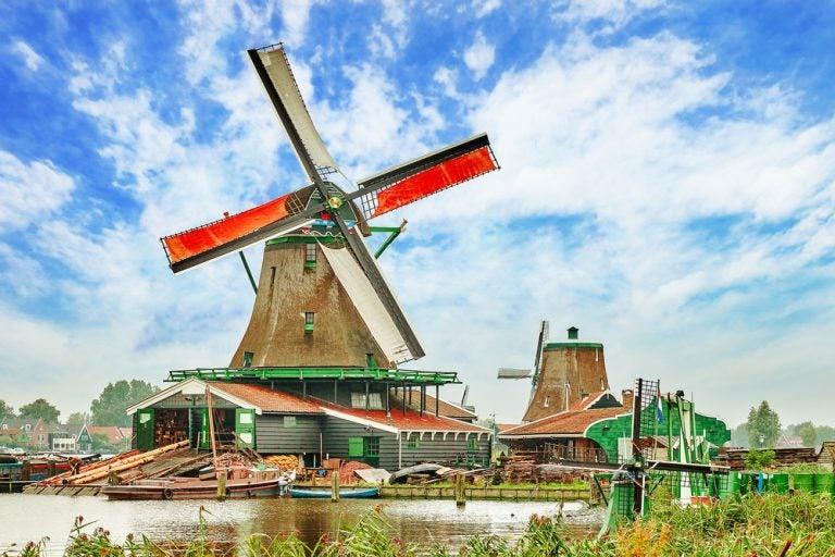 Curiosidades de los molinos de viento holandeses