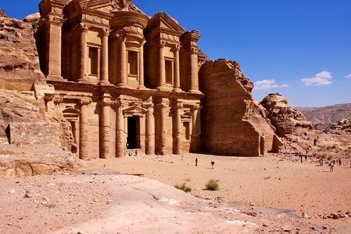 Monasterio en Petra