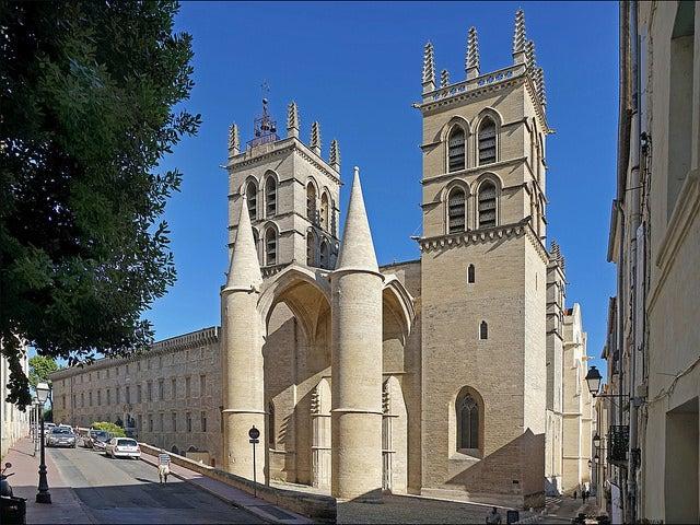 Catedral de Montpellier en Francia