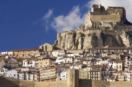 Morella en la provincia de Castellón