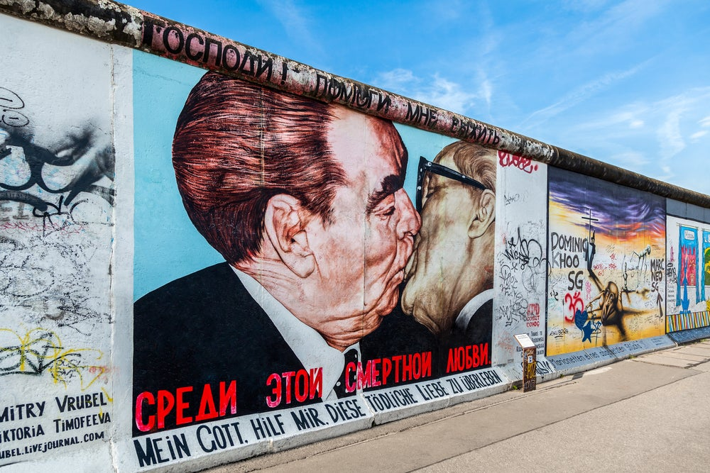 East Side Gallery, imprescindible en 3 días en Berlín
