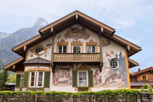 Oberammergau un bonito pueblo cerca de Múnich