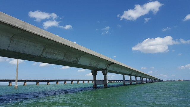 Overseas Highway, una de las carreteras espectaculares