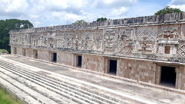 Palacio del Gobernador en la ciudad de Uxmal