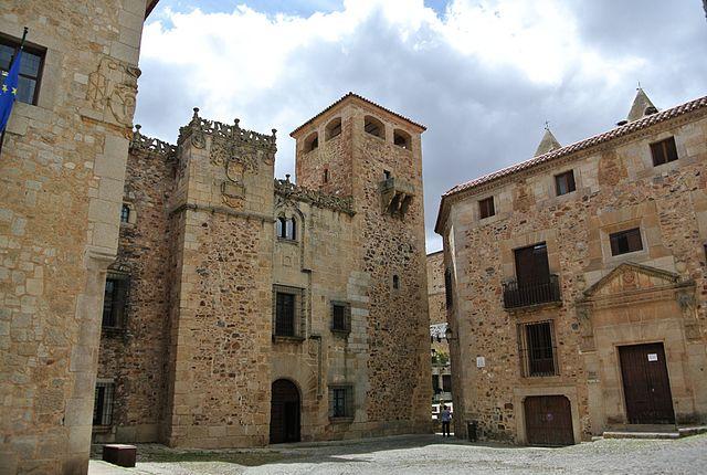 Palacio de los Golfines en Cáceres