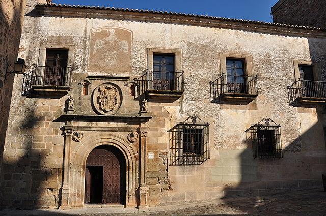 Palacio Ovando en Cáceres