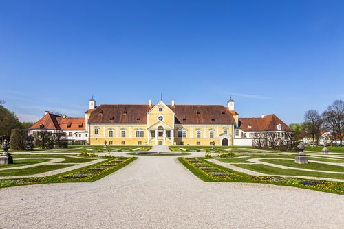 Palacio Schleissheim cerca de Múnich
