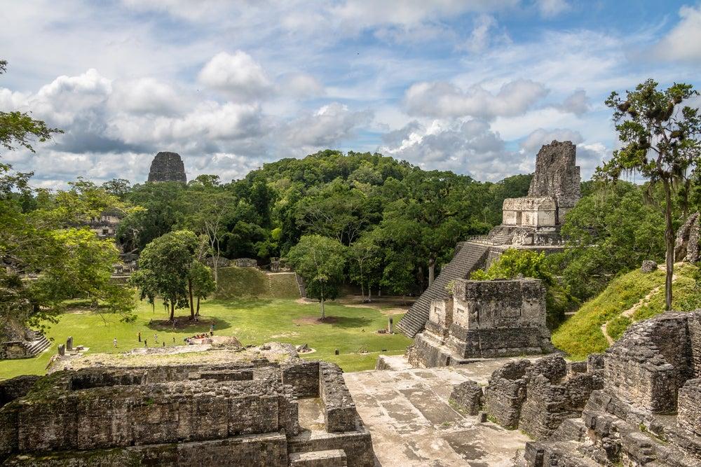 Ruinas de Tikal en Guatemala