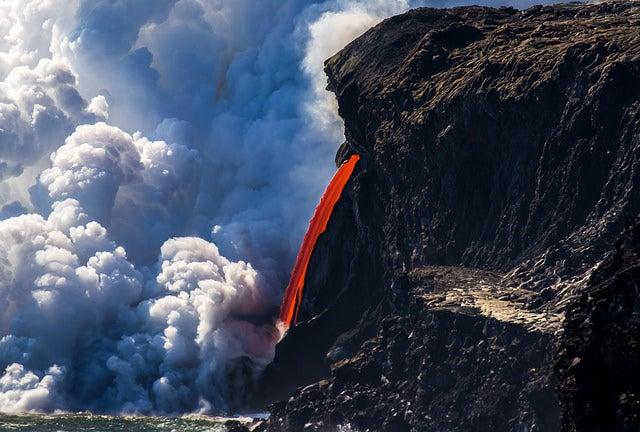 PArque nacional de los Volcanes en Hawaii
