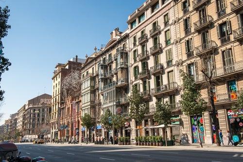 Paseo de Gracia para comprar en Barcelona
