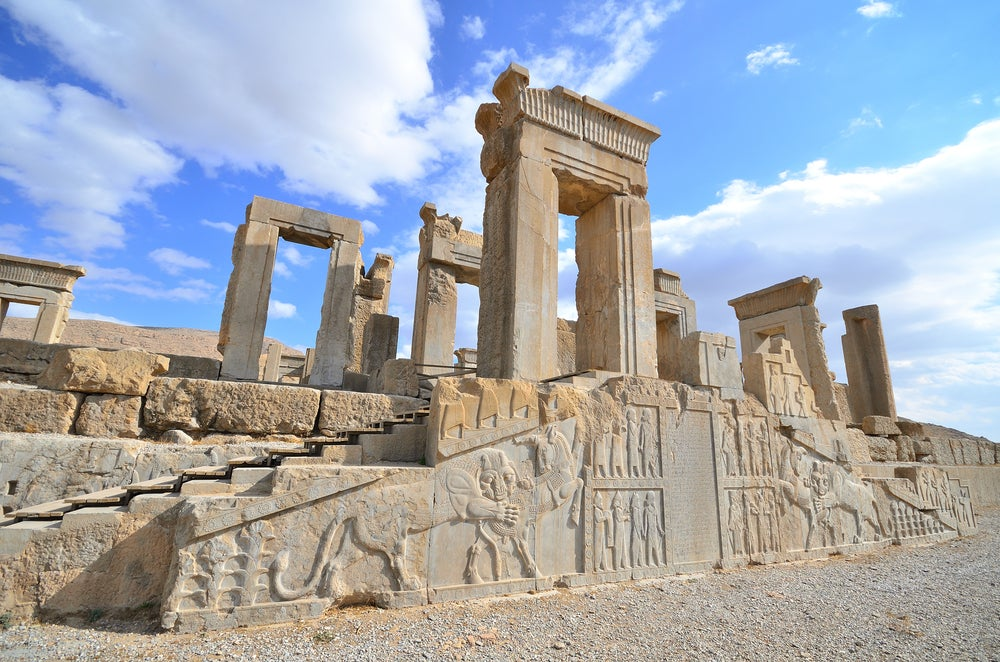 Persépolis, la capital del Imperio Aqueménida
