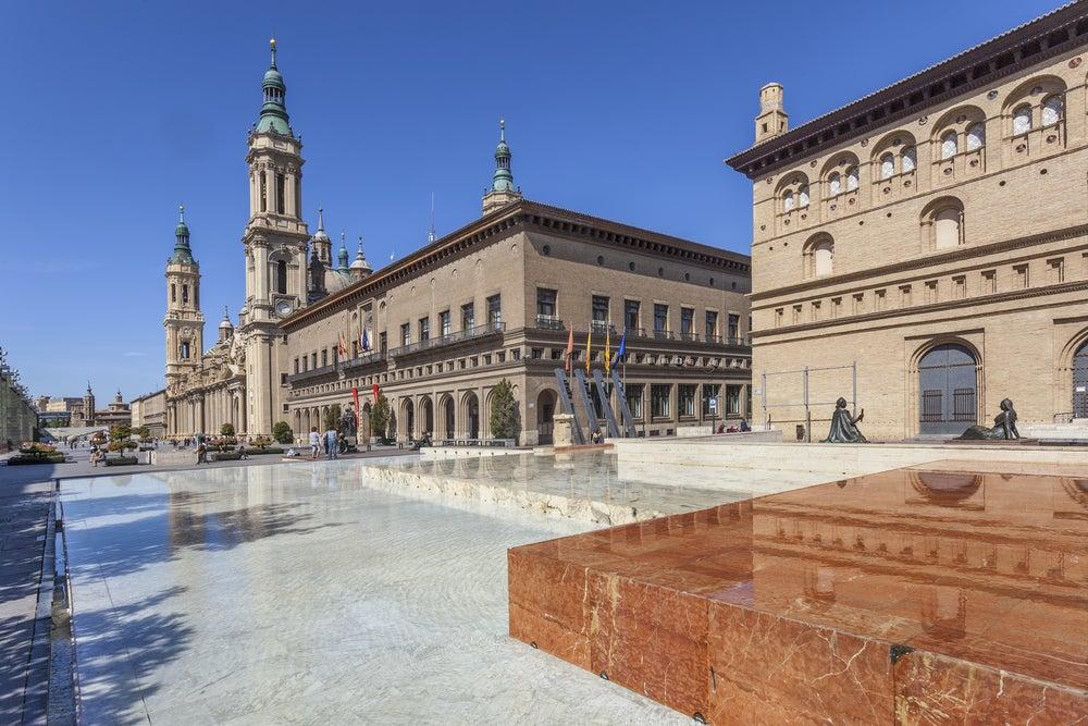 Plaza de las Catedrales de Zaragoza