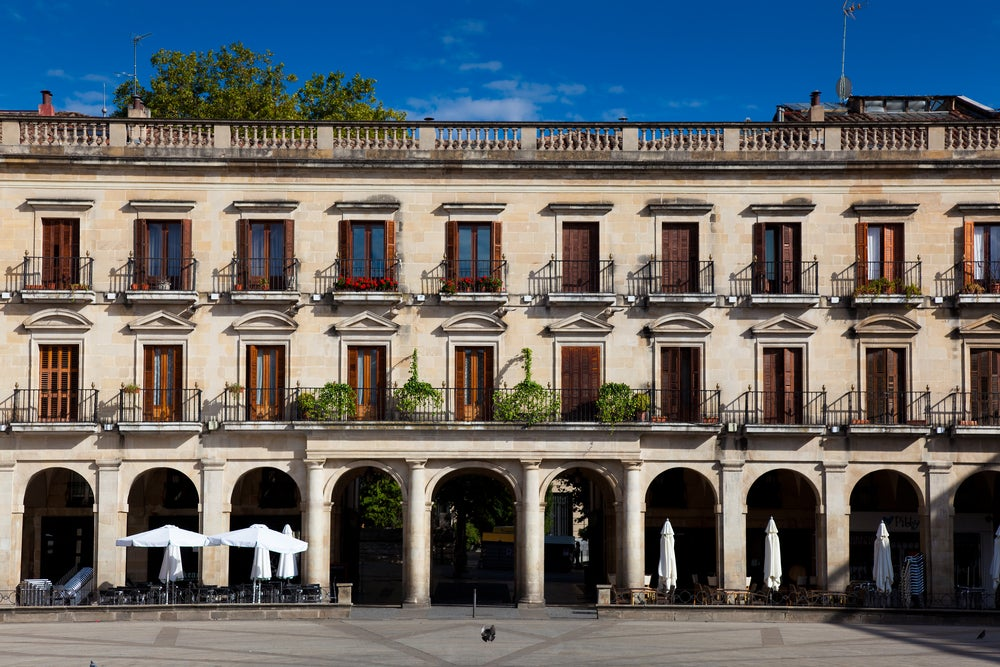 Plaza de España de Vitoria
