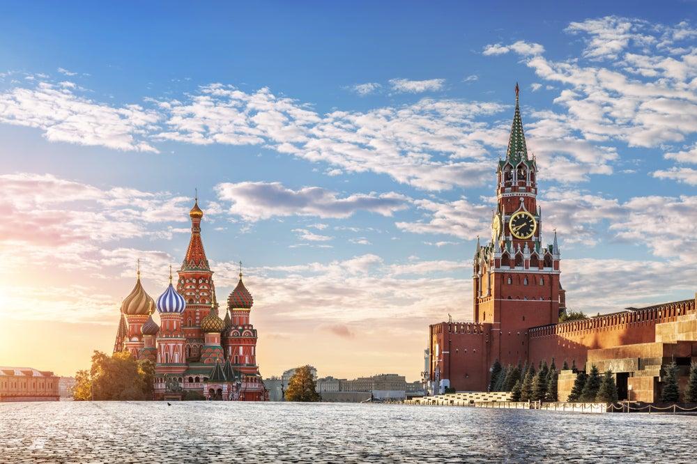 La catedral de San Basilio de Moscú se construyó a mediados del siglo XVI.