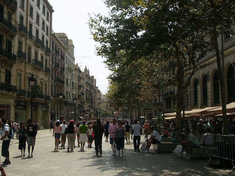 Portal del Ángel en Barcelona