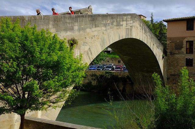 Puente de la Cárcel en Estella