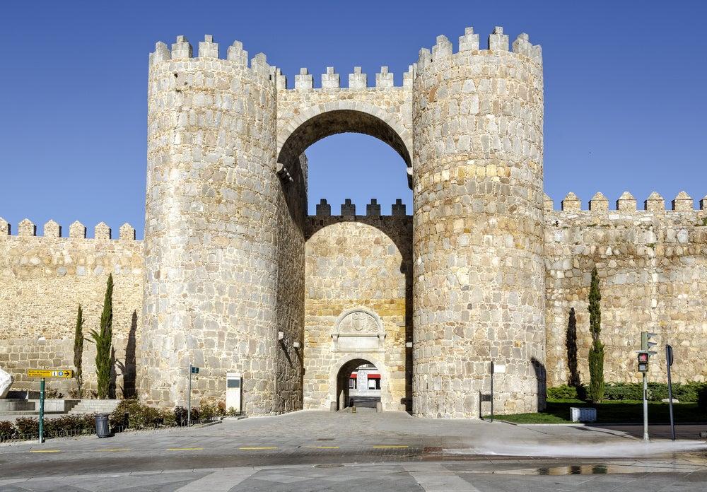 Puertas monumentales: puerta del Alcázar de Ávila