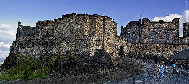 Puerta de Foog en el castillo de Edimburgo