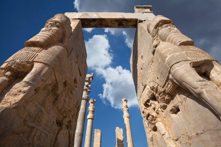 La Puerta de las Naciones de Persépolis
