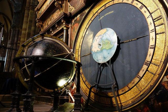Reloj de la catedral de Estrasburgo