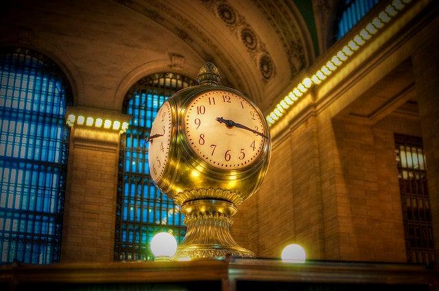 Relojes del mundo: Gran Central Terminal