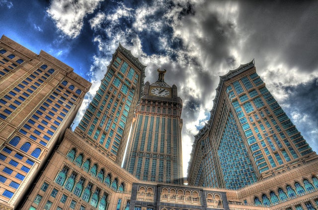 Abraj Al-Bait en La Meca