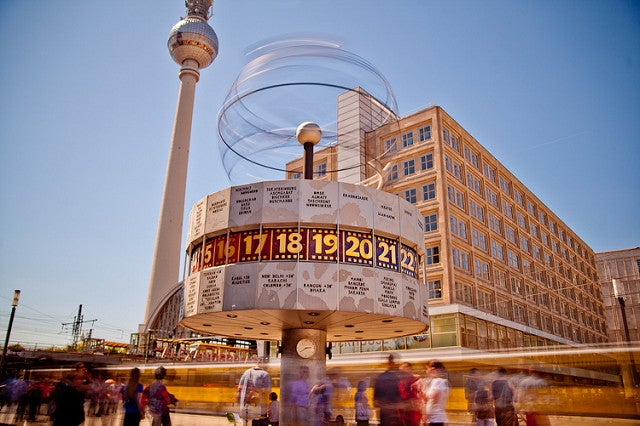 RElojes del Mundo, reloj mundial de Berlín