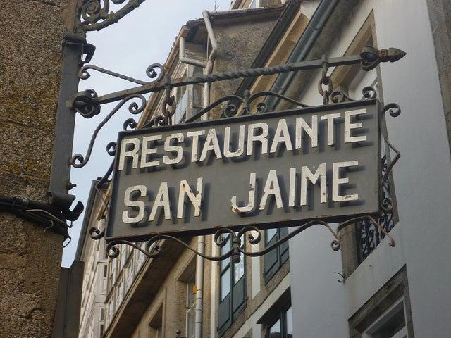Resturante San Jaime en Santiago de Compostela