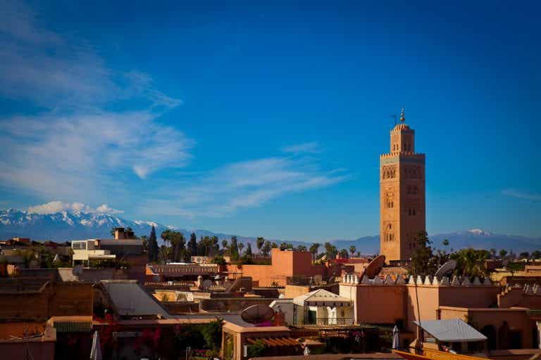 Cómo llegar a Marrakech, la ciudad imperial de Marruecos
