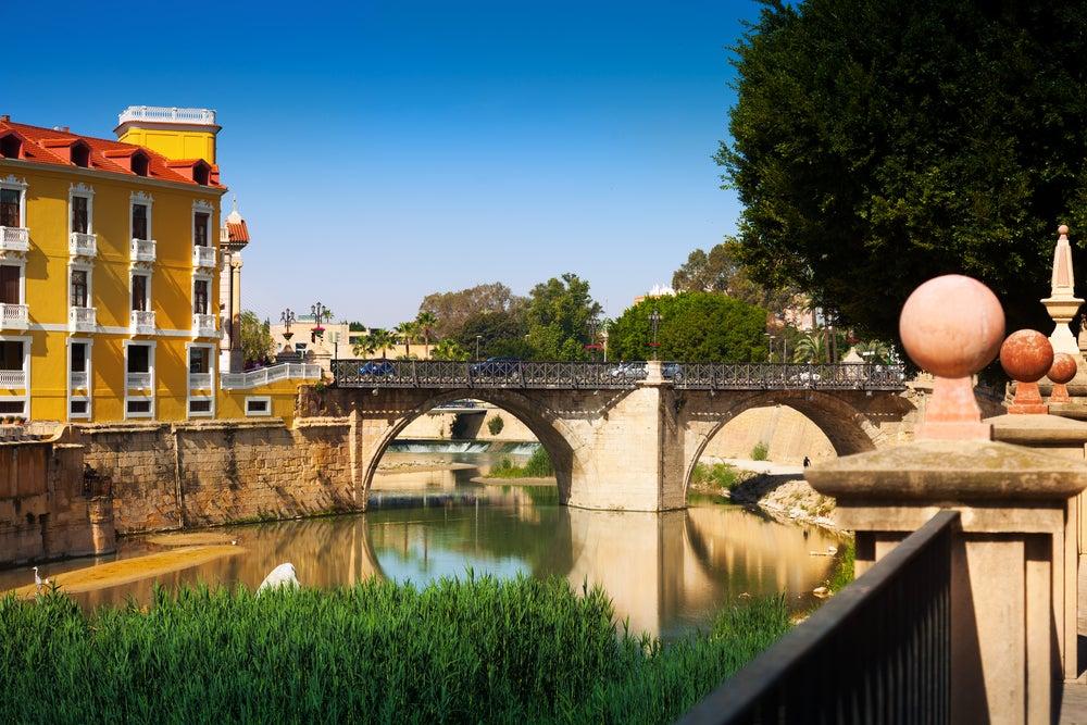 Río Segura en Murcia