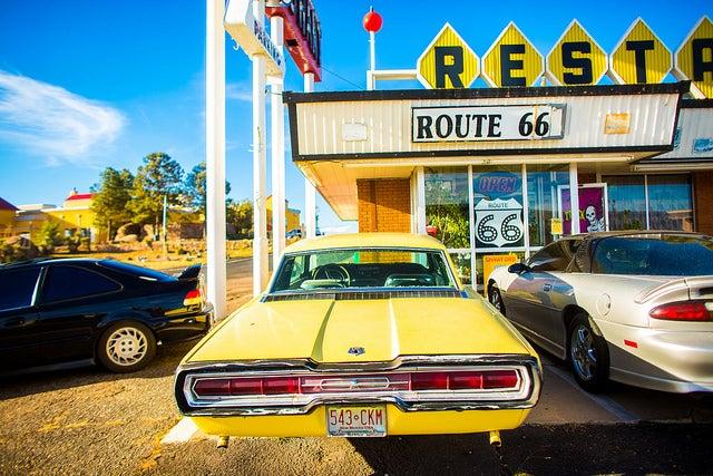 Restaurante en la Ruta 66