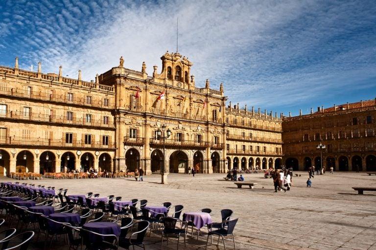 Damos un paseo por la Plaza Mayor de Salamanca