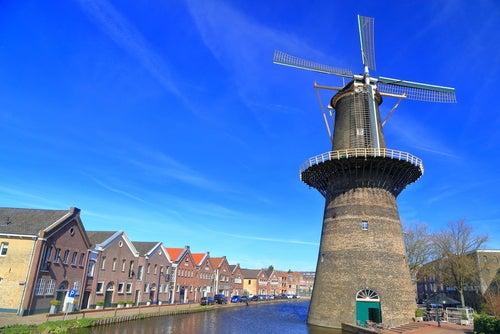 Molinos en Schiedam, Holanda