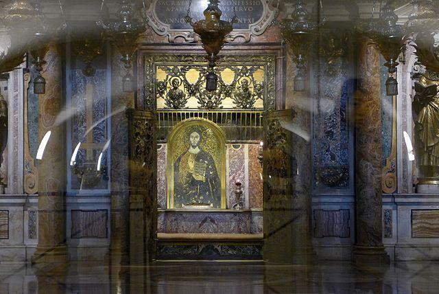 Sepulcro de San Pedro en el Vaticano