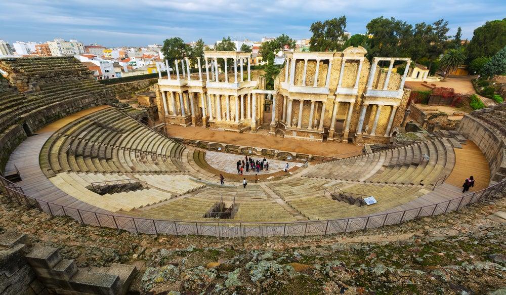 Cómo llegar al teatro romano de Mérida