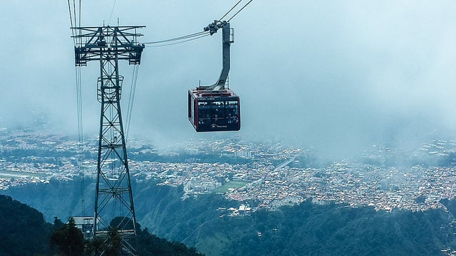 Teleféricos impresionantes: Mulumbarí en Venezuela