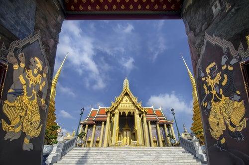 TEmplo del Buda de Esmeralda en Bangkok