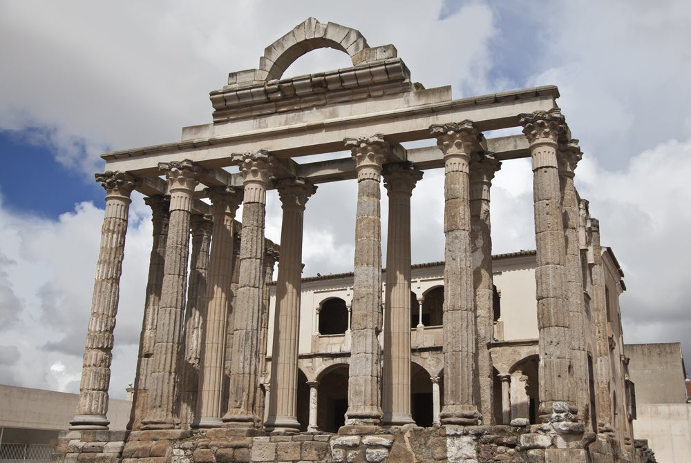 Templo de Diana en Mérida