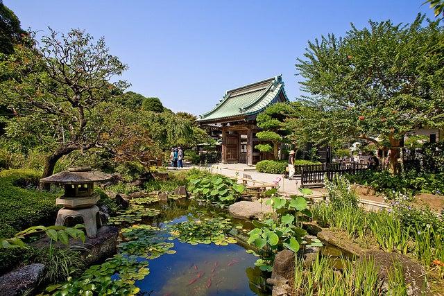 Templo Hasedera en Kamakura
