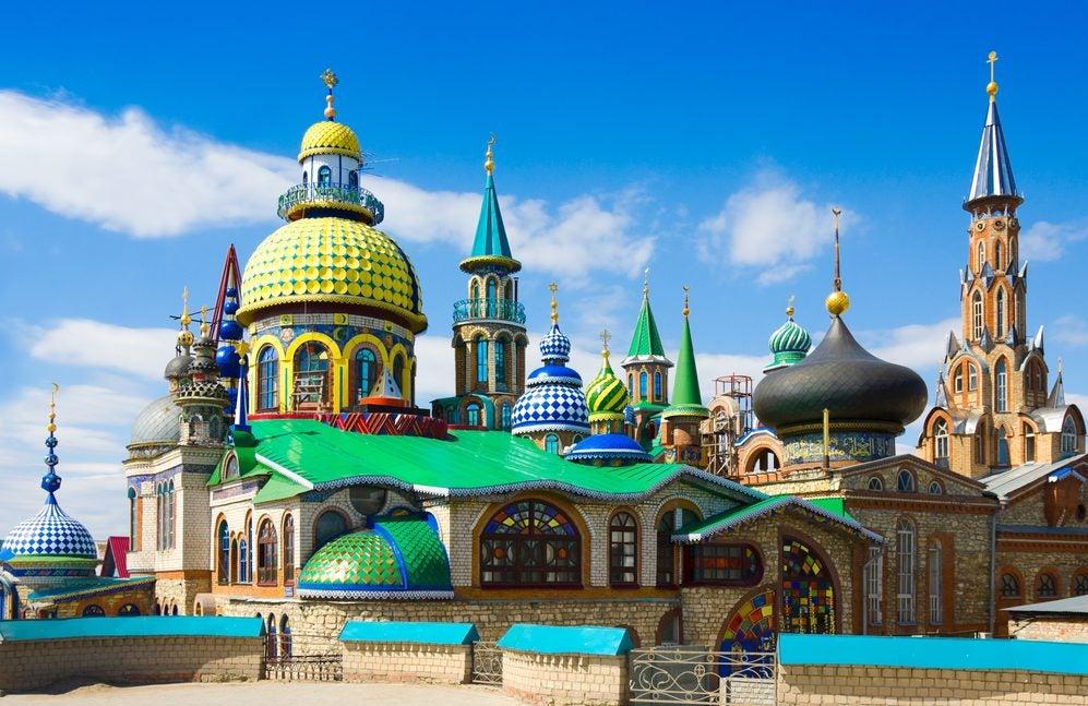 El Templo de todas las Religiones, un templo universal