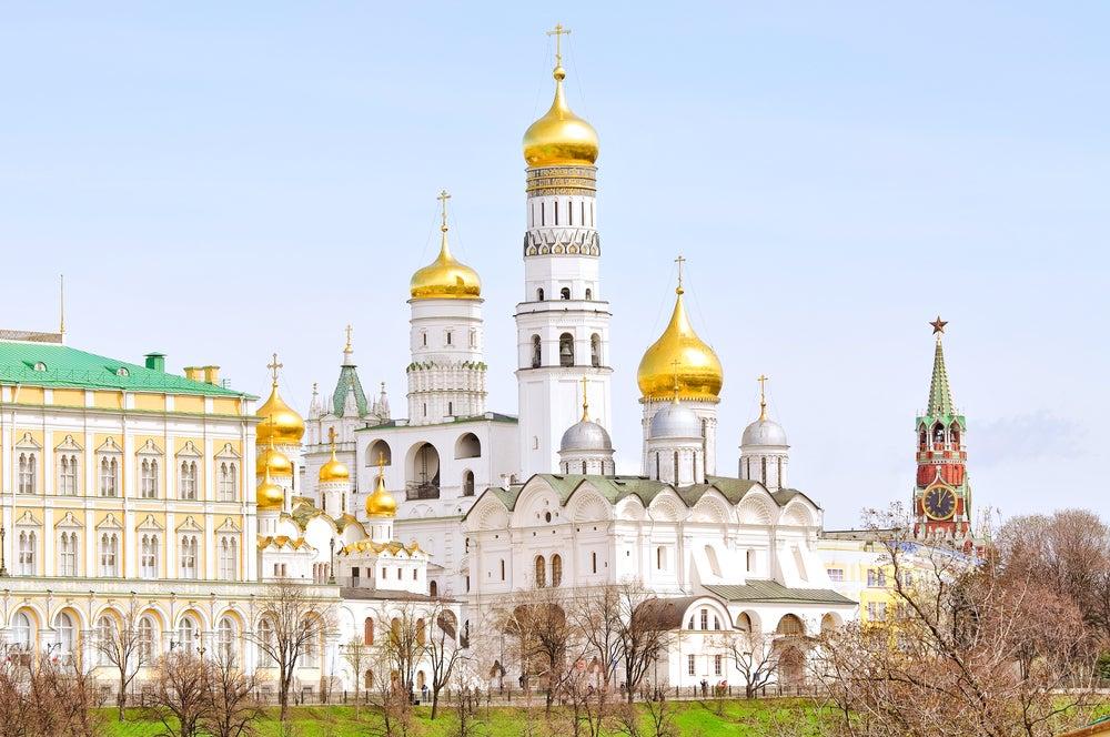 Torres en el Kremlin de Moscú