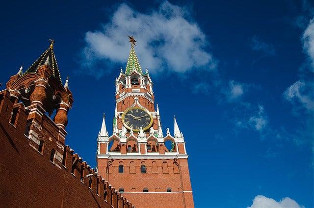 Torre Spasskaya en Moscú
