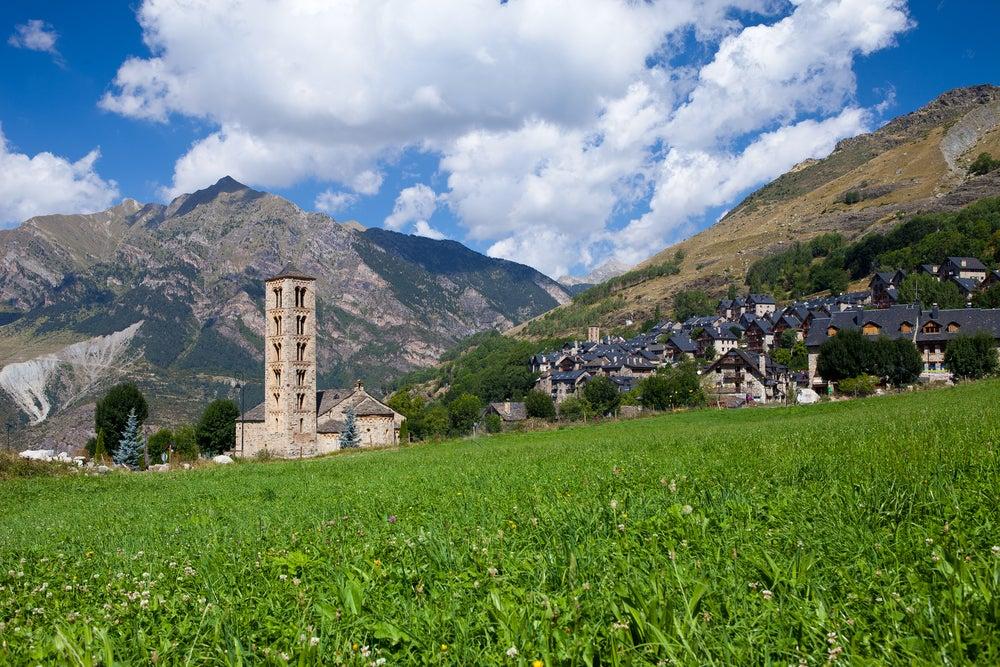 Iglesia en el valle del Boí